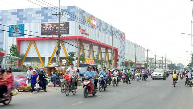 Trung tâm thương mại Centrel Mall đi vào hoạt động tháng 9-2018