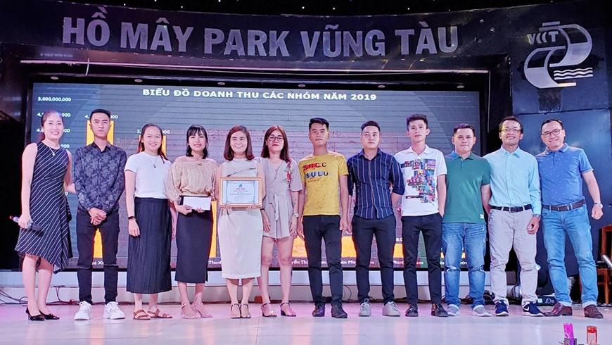 Khen thưởng Best nhóm