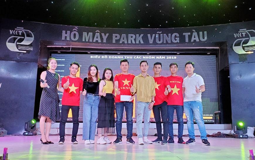 Khen thưởng nhóm Mr Quang