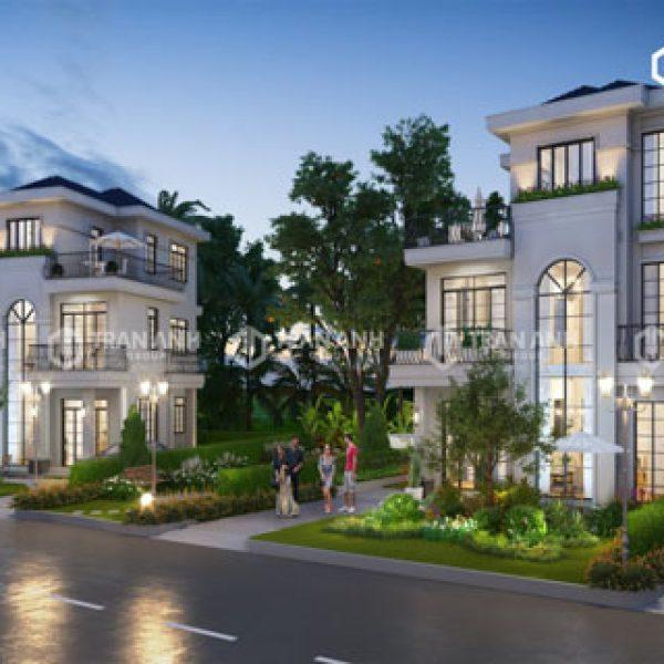 Thiết kế biệt thự West Lakes Golf & Villas