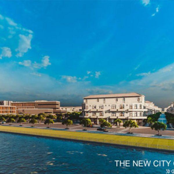 The New City Châu Đốc tọa lạc tại vị trí nổi bật tại An Giang