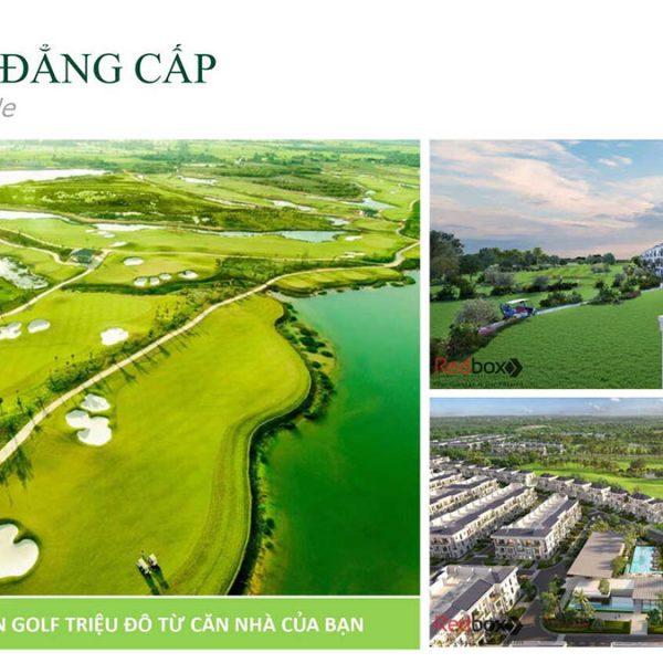 Biệt thự West Lakes Golf & Villas – View sân Golf triệu đô