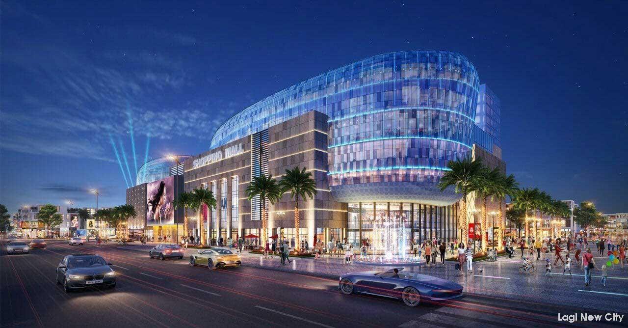 Tiện ích Khu trung tâm thương mại tại Dự án Phức hợp Đô thị Thương mại Dịch vụ & Du lịch Biển Lagi New City
