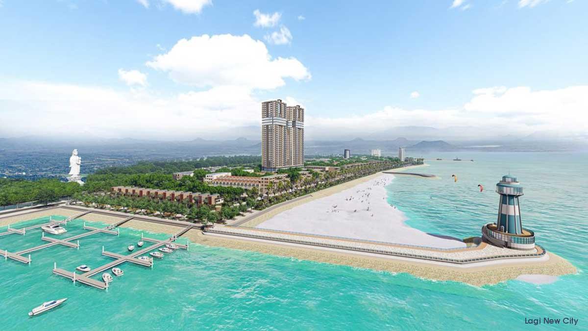 Tiện ích Bến Du Thuyền Dự án Lagi New City Bình Thuận