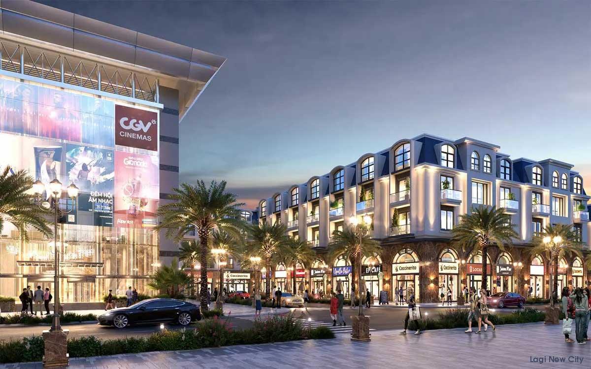 Nhà phố Thương mại Dự án Phức hợp Đô thị Thương mại Dịch vụ & Du lịch Biển Lagi Bình Thuận