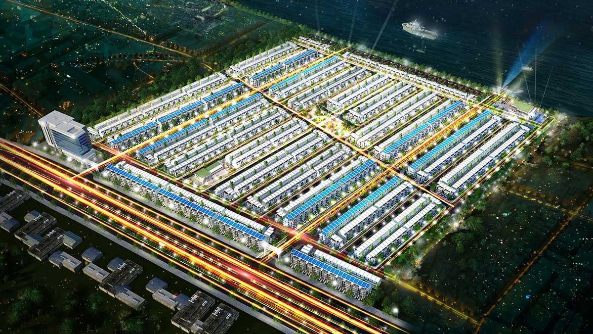 Phối cảnh Dự án Fenix City Hậu Giang