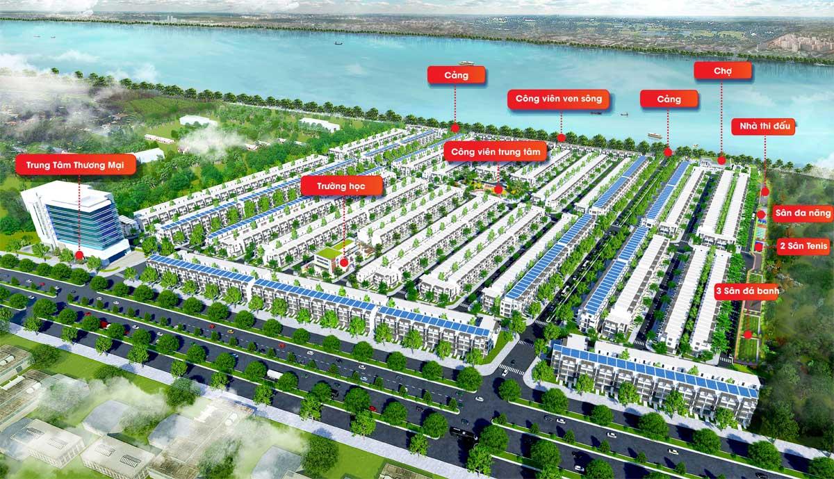 Tiện ích nội khu Dự án Fenix City Hậu Giang