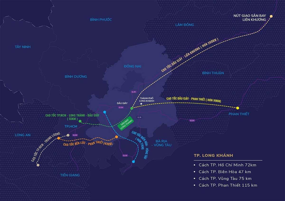 Tien ich lien ket vung Du an TNR Grand Long Khanh - TNR Grand Long Khánh