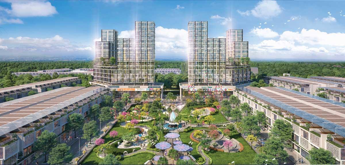 Tien ich cong vien TNR Grand Long Khanh - TNR Grand Long Khánh